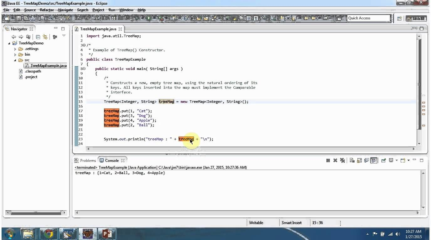 Java collection framework treemap default constructor java collection framework treemap default constructor baditri Image collections