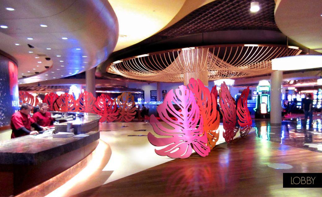 Palms Casino Resort Las Vegas Lobby Design Interior Design Hospitality Design Hoteldesign Design By Bar Napkin Lobby Design Bar Napkins Hospitality Design