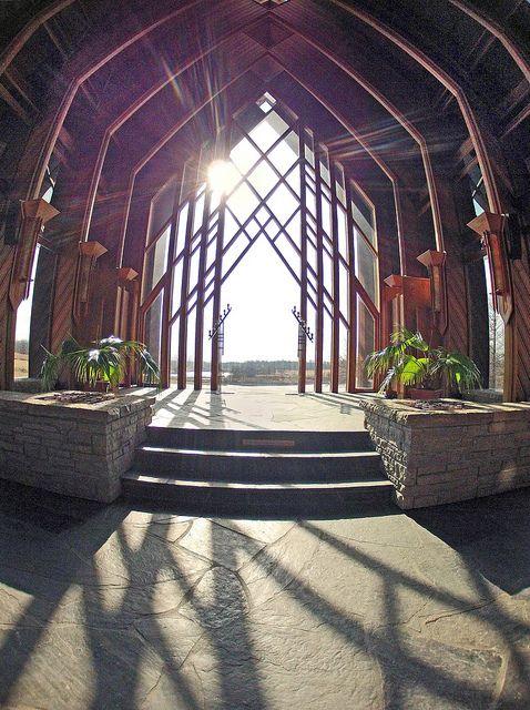 The Marjorie Powell Allen Chapel At Kansas City S Botanical Garden Via Flickr