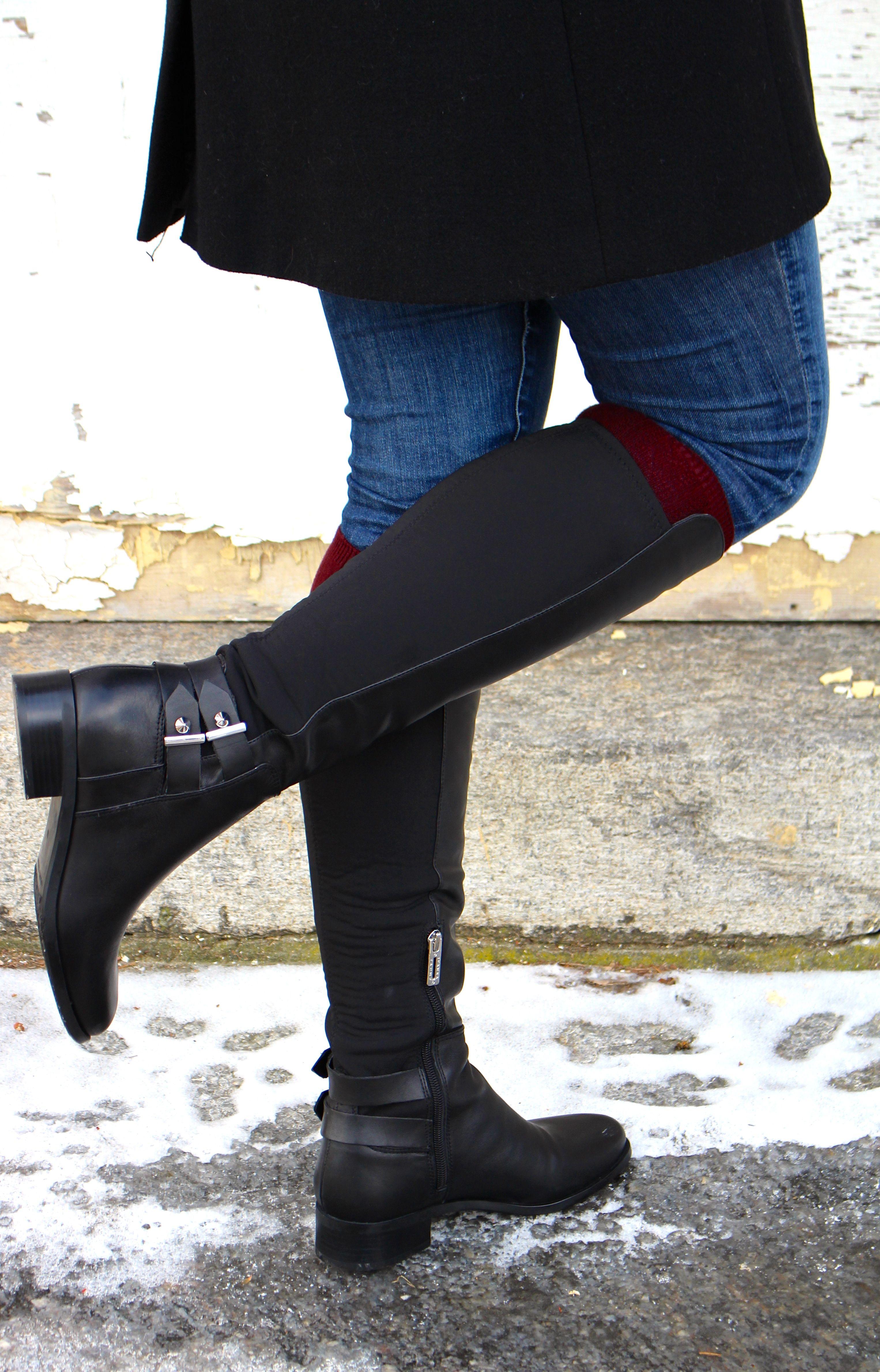 black Ivanka Trump boots - click to shop