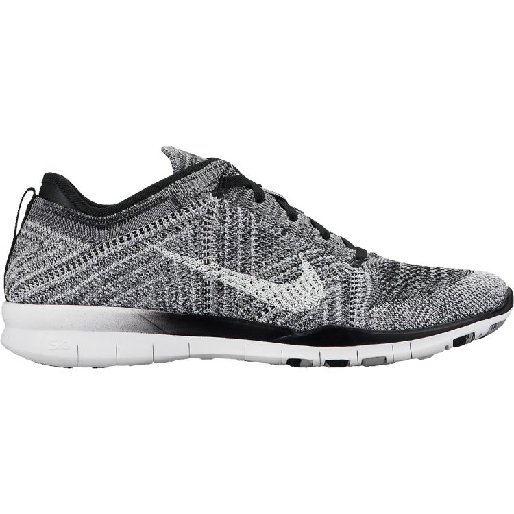 Nike Free Flyknit TR 5.0 - Black, White \u0026 Grey | DICK\u0027S Sporting Goods