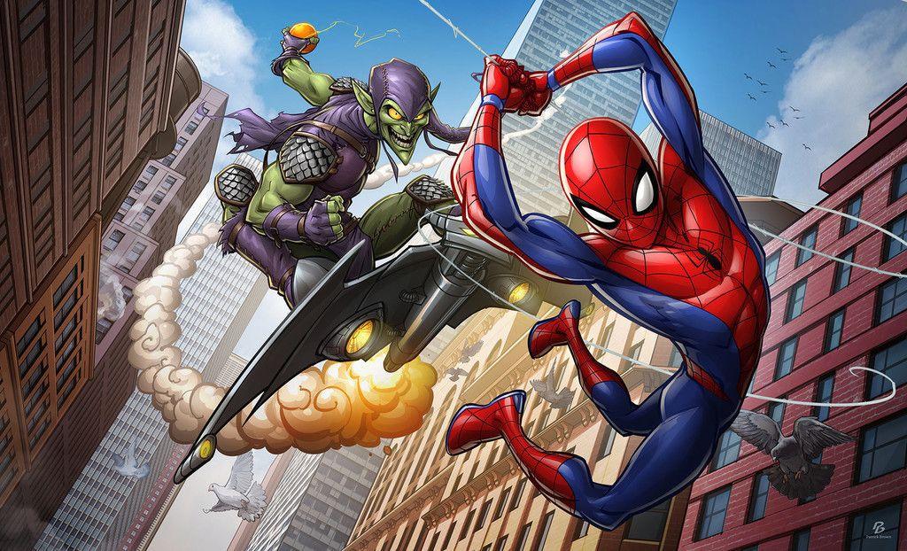 Spiderman The Animated Series Artwork Wallpaper Spider Man