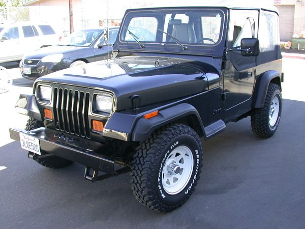Coches Cars 1995 Jeep Wrangler Yj Jeep Wrangler Jeep Fotos