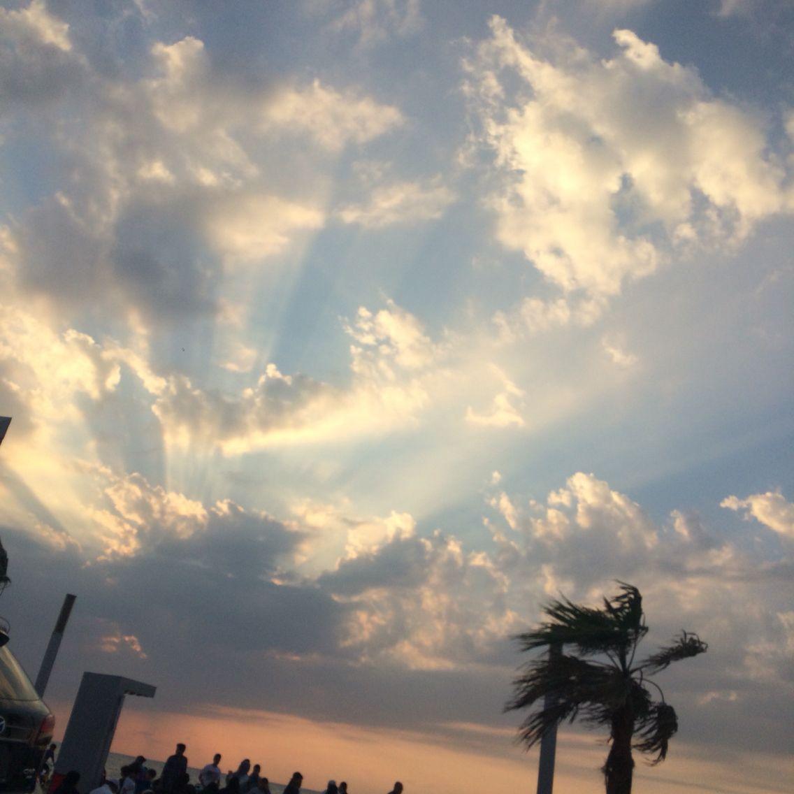 اجواء جدة من البحر تصويري Clouds Outdoor