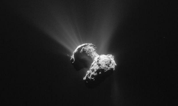 Nyt fra Rosetta: Mystiske huller kaster lys over universets oprindelse | Videnskab.dk