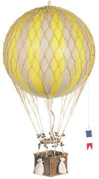 ShopStyle: Royal Travels Hot Air Balloon in Yellow