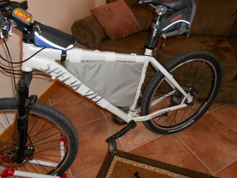 bike frame bag mountain mtb cycling - Mountain Bike Frame Bag