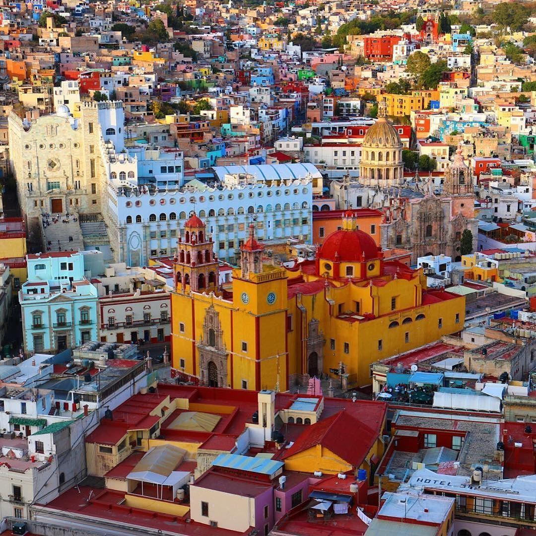 Guanajuato, una de las ciudades más instagrameadas de México