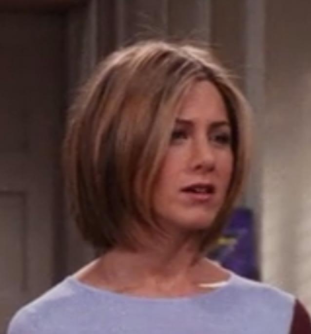 Jennifer Aniston As Rachel Greene On Friends Cute Bob Rachel Green Hair Short Hair Styles Hair Styles