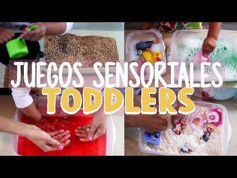 Actividades Con Toddlers Juegos Sensoriales Para Ninos Pequenos