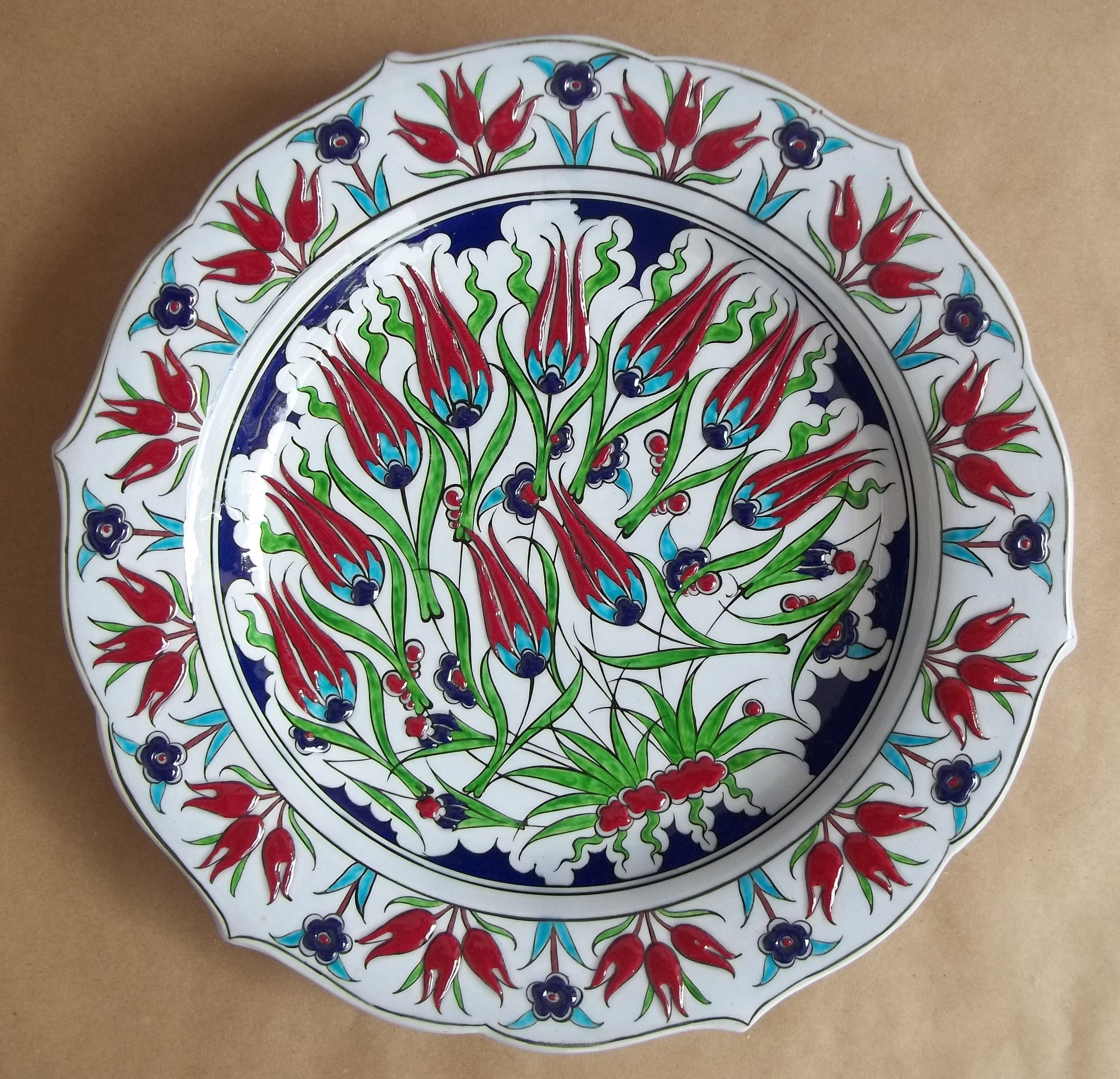 Ceramic Plate Kutahya Seramik Tezhip Fotografcilik