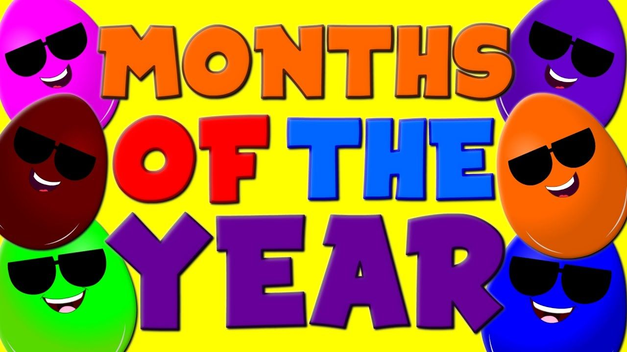 Hey kids! Do you little toddlers know the various months