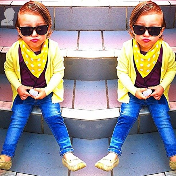 Little kid fashion