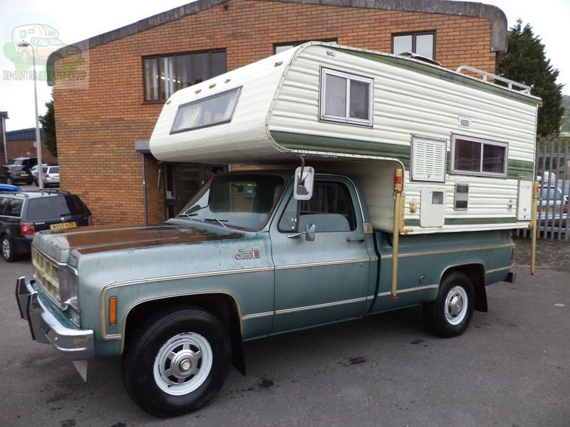 Uk Bristol Gmc Sierra Camper 9 995 00 Offers Slide In