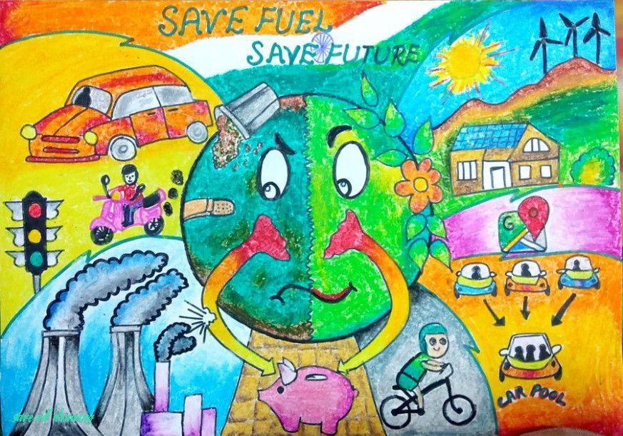 Heres What People Are Saying About Save Oil Drawing Save Oil Drawing In 2020 Save Earth Drawing Save Water Poster Drawing Earth Drawings