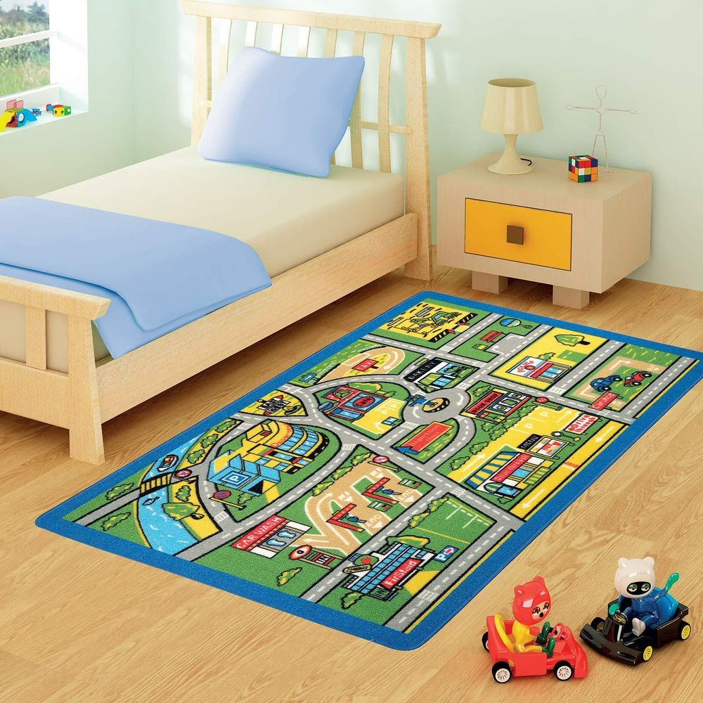 S Boys Bedroom Playroom Floor Mat