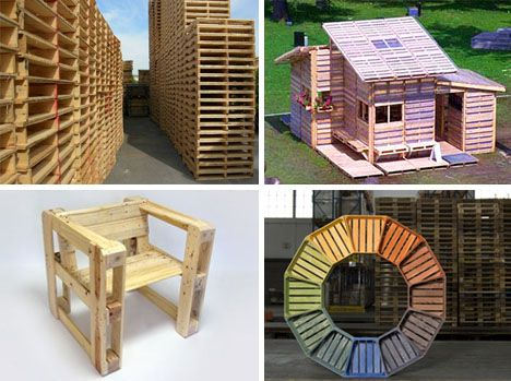 Forklift Furniture  DIY Projects for Used Wooden Pallets  Wood