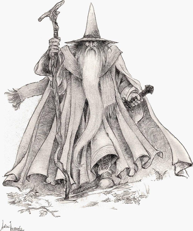 Gandalf - Multimedia - Ilustraciones, dibujos y fotos sobre El ...