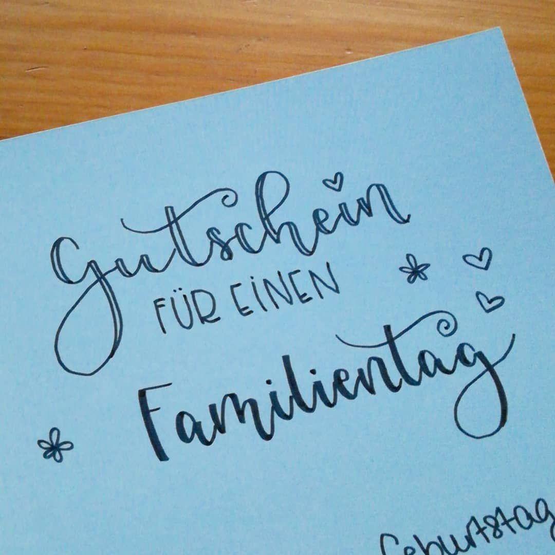 Papa hat Geburtstag  . . . #handlettering #lettering #letteringlove #letteringli…