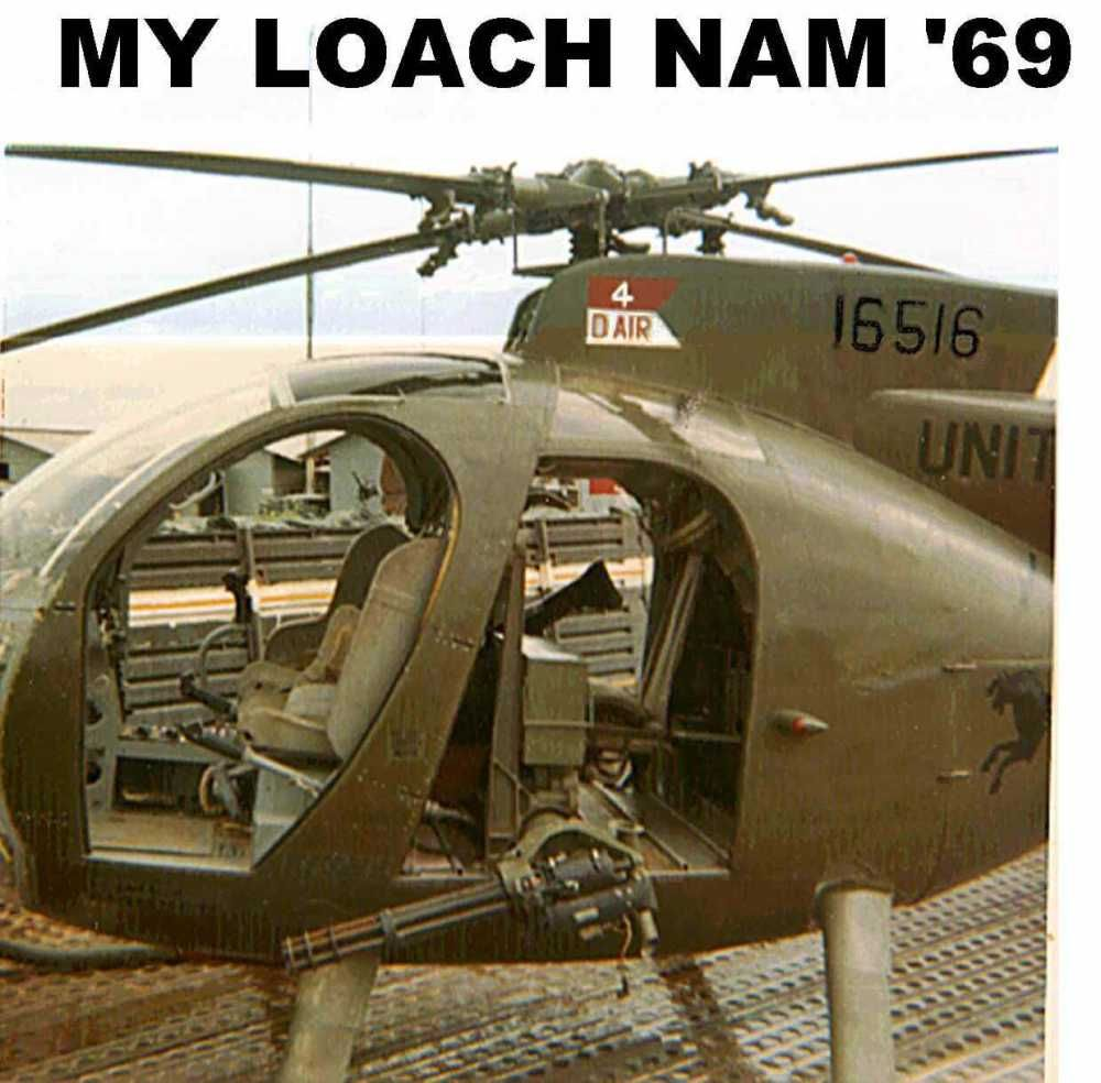 """OH-6A """"LOACH"""" 1/2 Of The Pink Team. If You Were There You"""