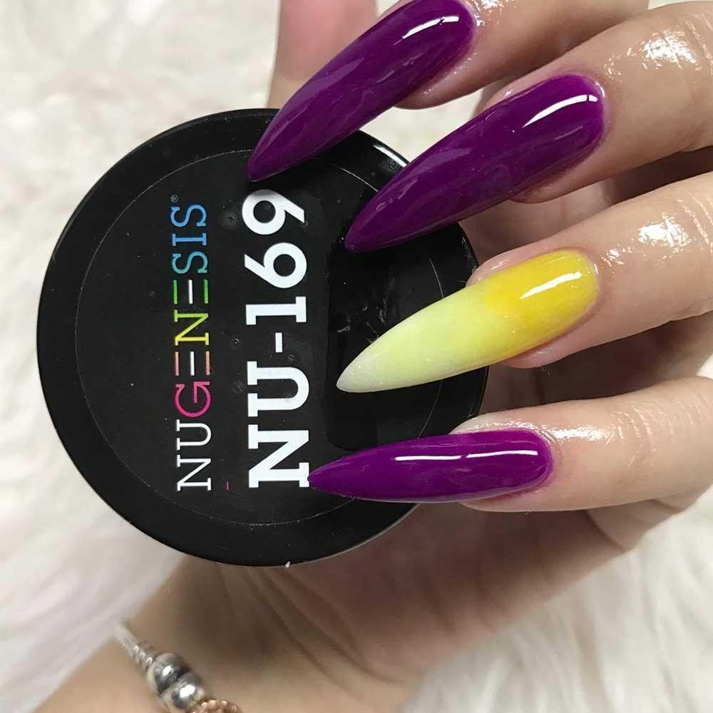 NU 169 Positive Vibes   Nail art in 2019   Dip powder