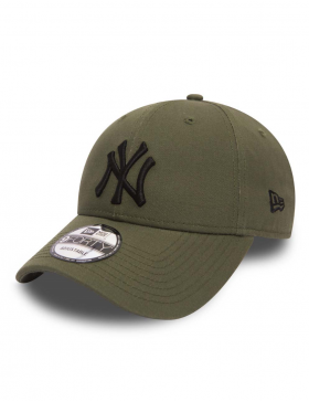 6147f486e404d New Era 9Forty League Essential (940) New York Yankees Olive Black ...