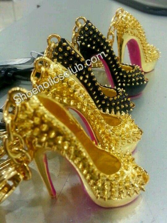 Shoe key chains