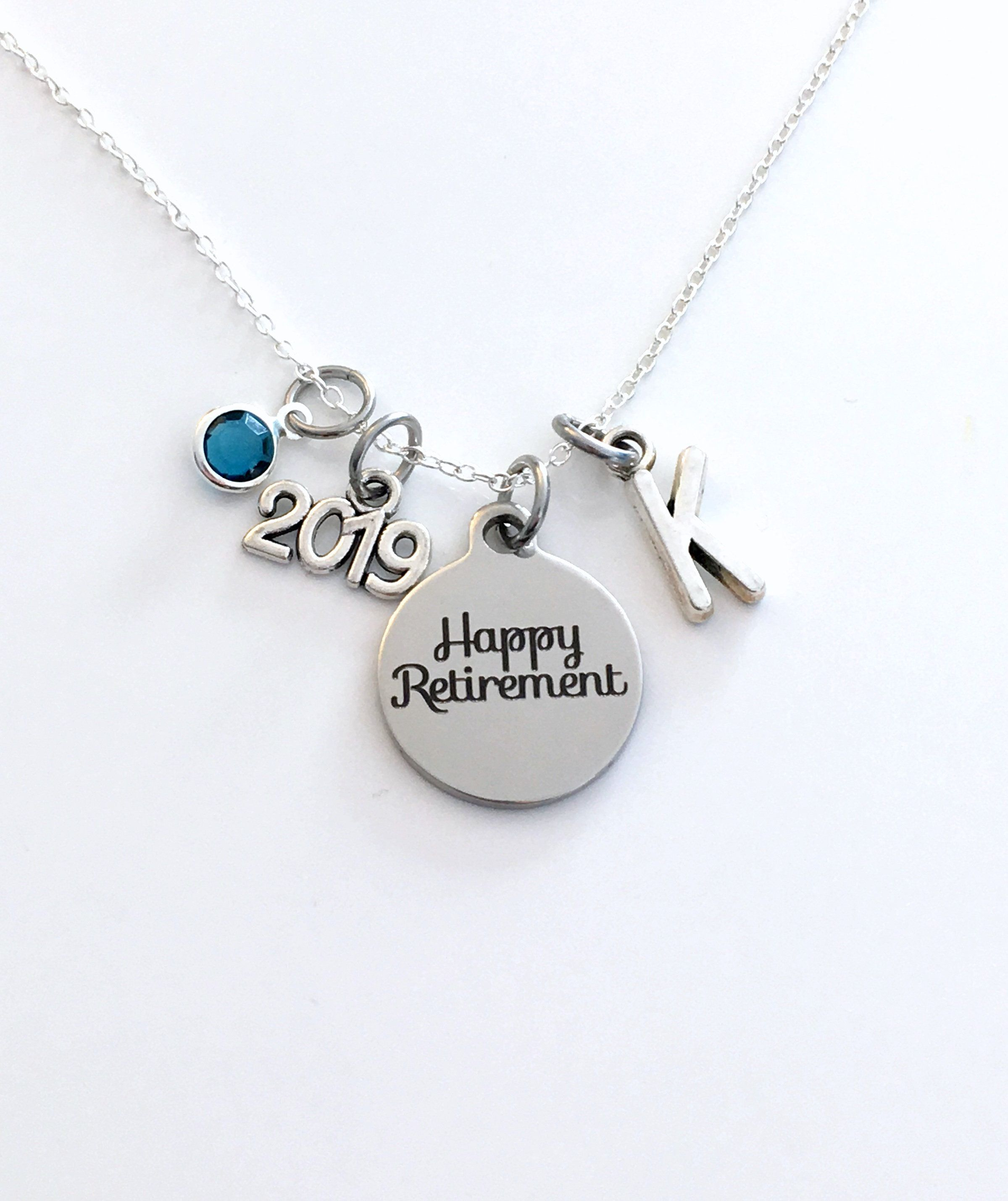 Best Gifts 2020 For Her Retirement Jewelry, Women's Necklace, 2019 Gift for Best Friend