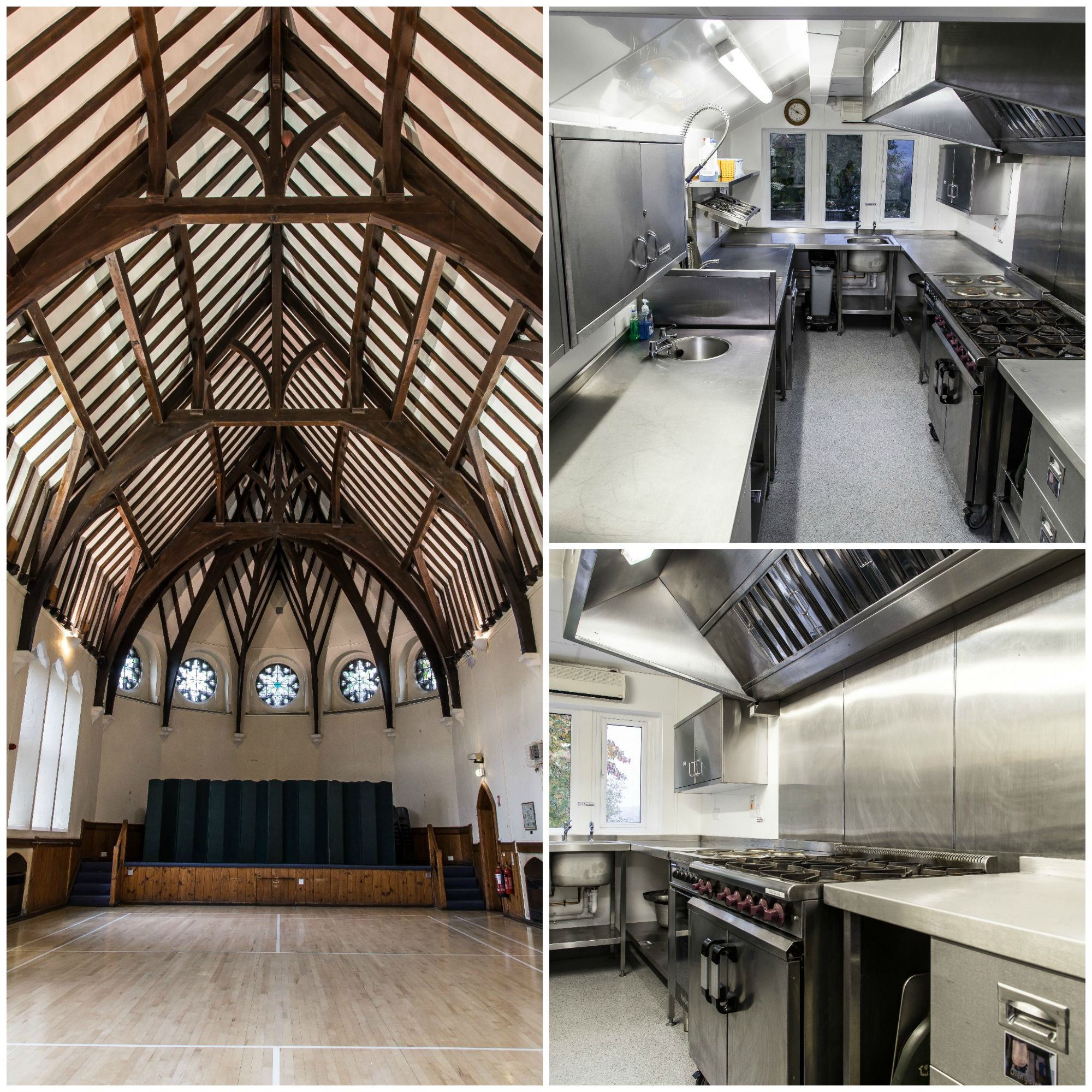 Commercial kitchen design- A village hall where we completed a ...