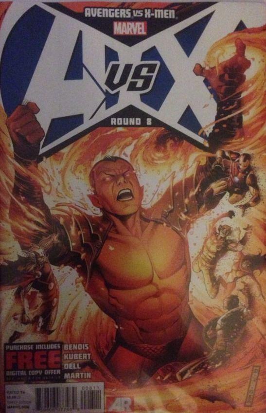 Avengers Vs X Men 8 September 2012 Marvel Jim Cheung Cover Comic Free Marvel Comics Marvel Comics Avengers
