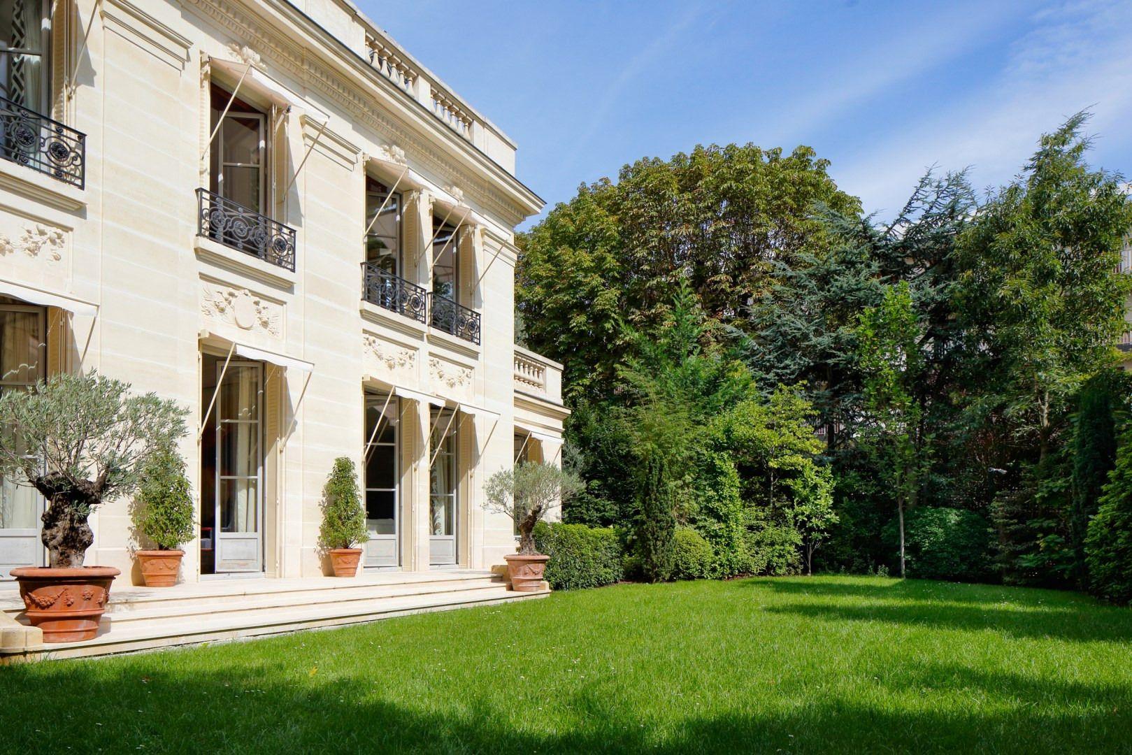 Sale Private Mansion 1294 M 20 Rooms Paris 16ème Neuilly Sur Seine Luxury Property International Real Estate