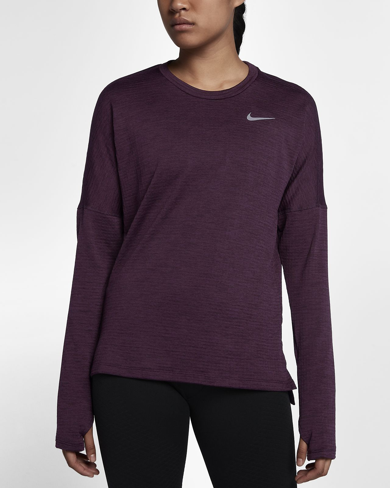 Nike Therma Sphere Element Women's Long Sleeve Running Top ...