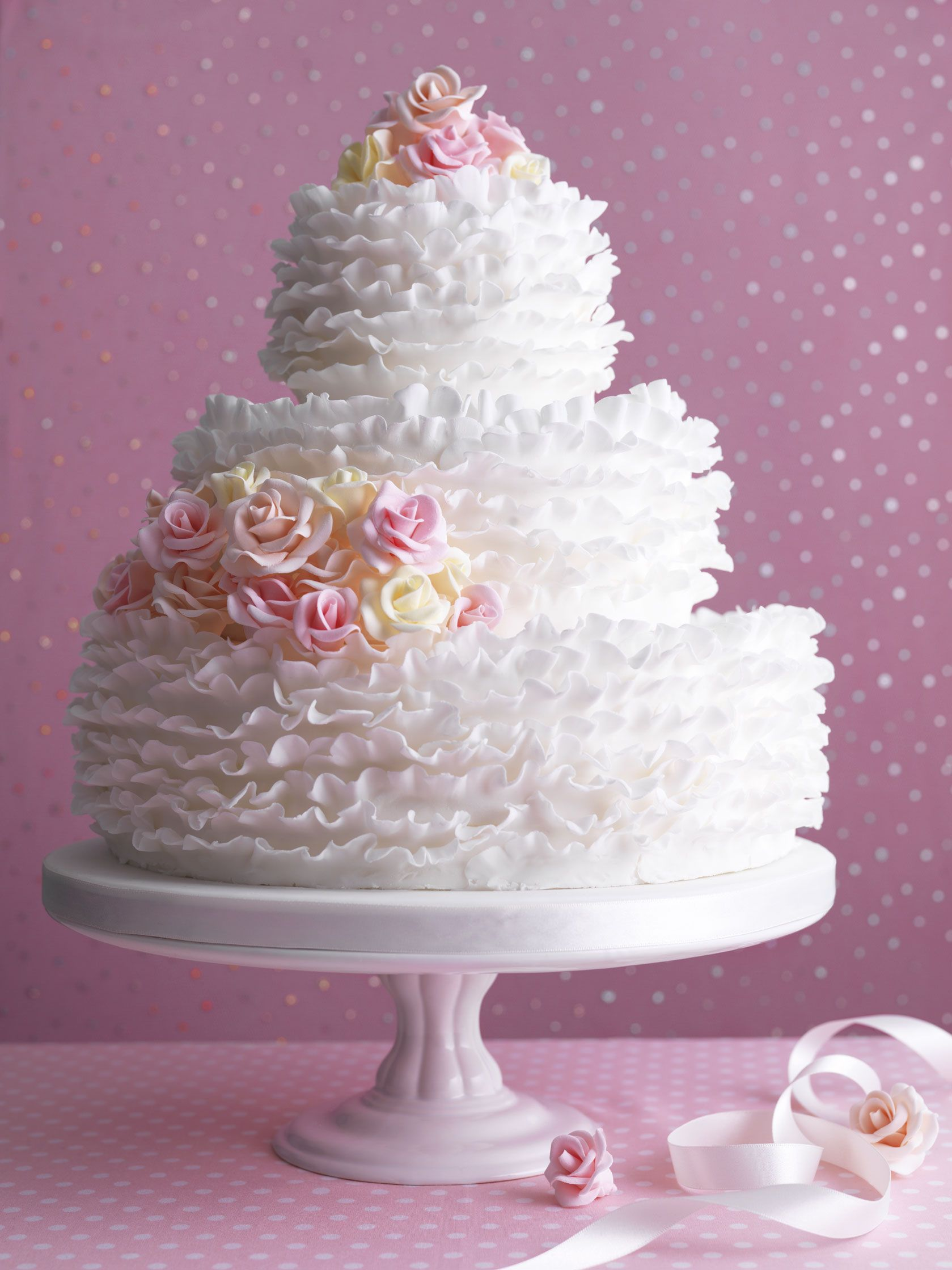 How To Make A Wedding Cake With Recipes For Different Tin Sizes