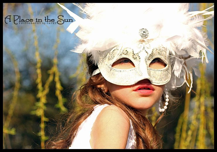 Masquerade party girl!