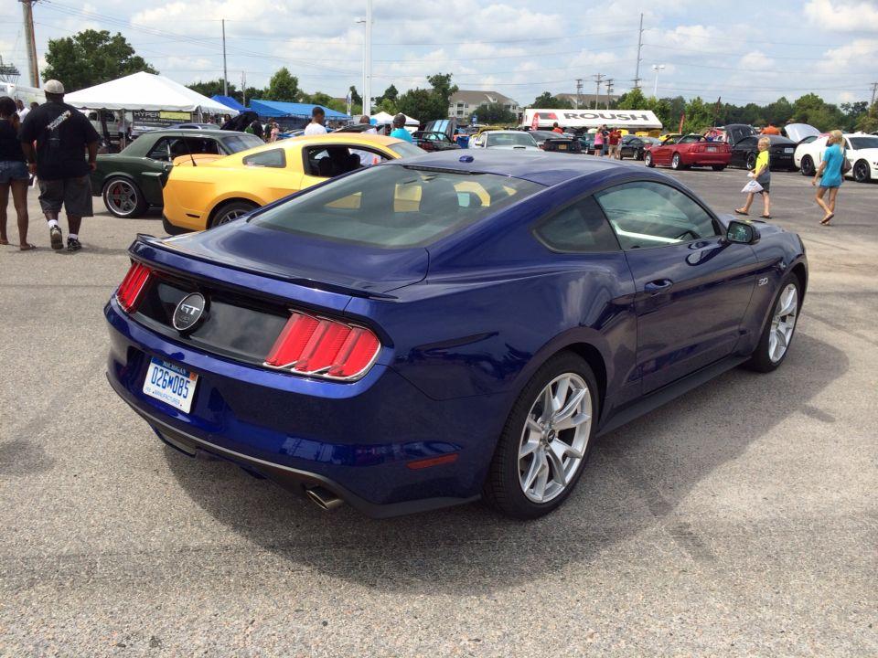 2015 kona blue mustang gt - Ford Mustang 2015 Blue