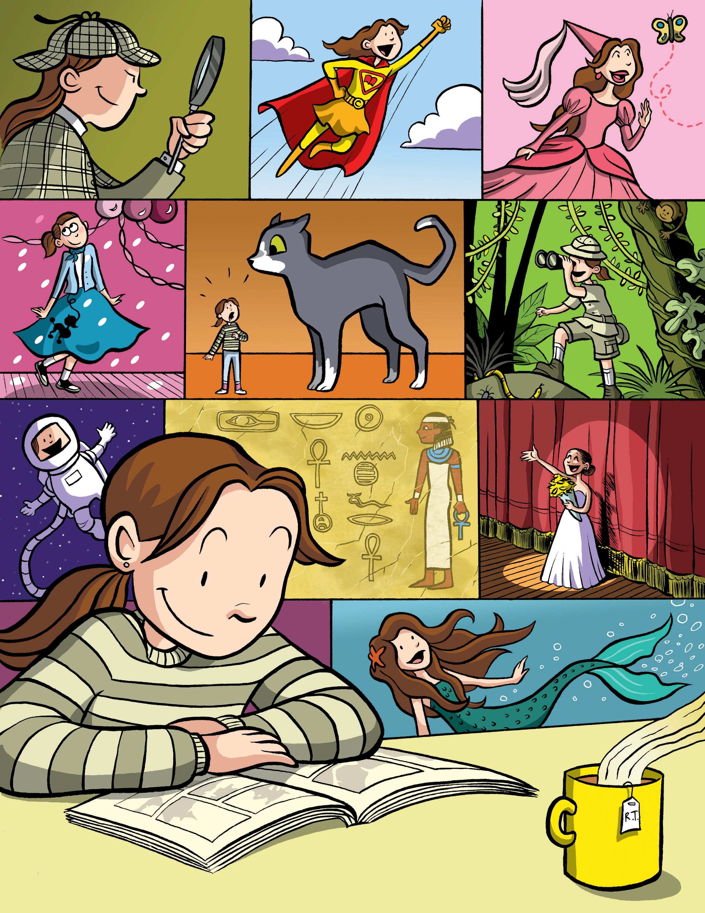 By Raina Telgemeier A Poster For Scholastic S Read Every Day