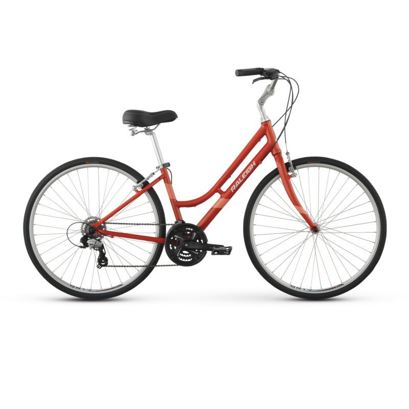 Raleigh Detour 2 Step Thru Comfort Bike 13 Xs Red Full Manufacturer S Warranty Free Same Day Shipping Comfort Bik Comfort Bike Hybrid Bike Raleigh Bikes