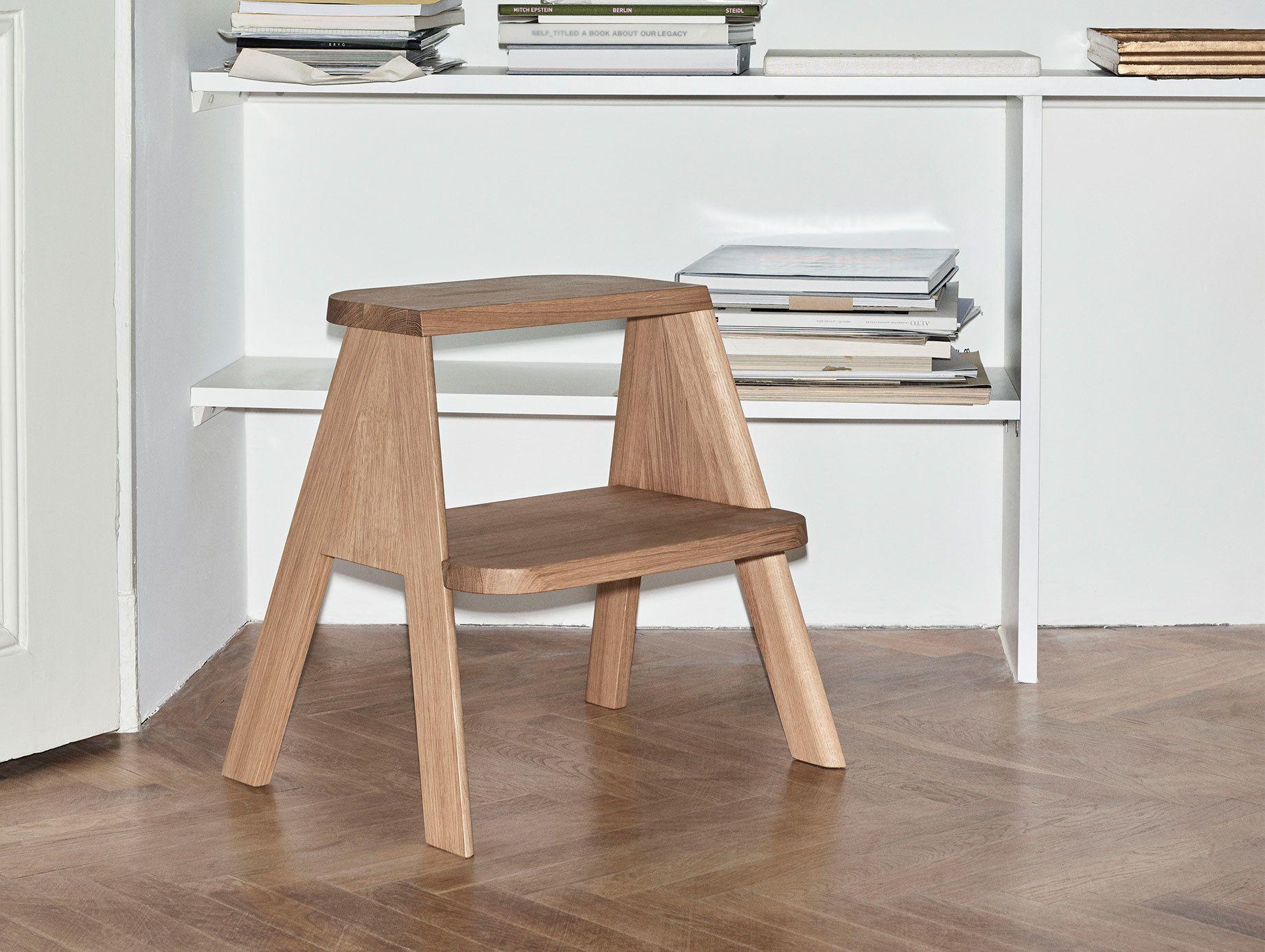 Hay Butler Shane Schneck Solid oak, Stool, Design