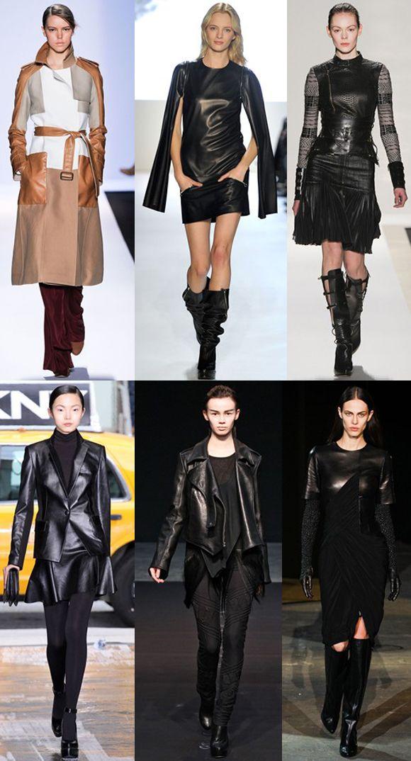 Love these looks : ) So tough yet feminine!