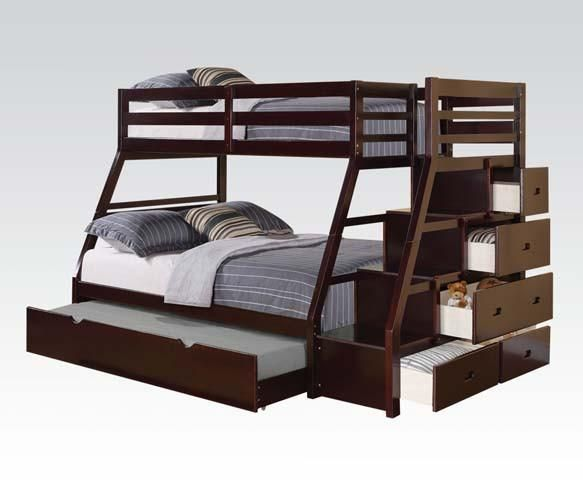 Acme Jason Twin Over Full Bunk Bed In 2019 Bunk Beds Pinterest