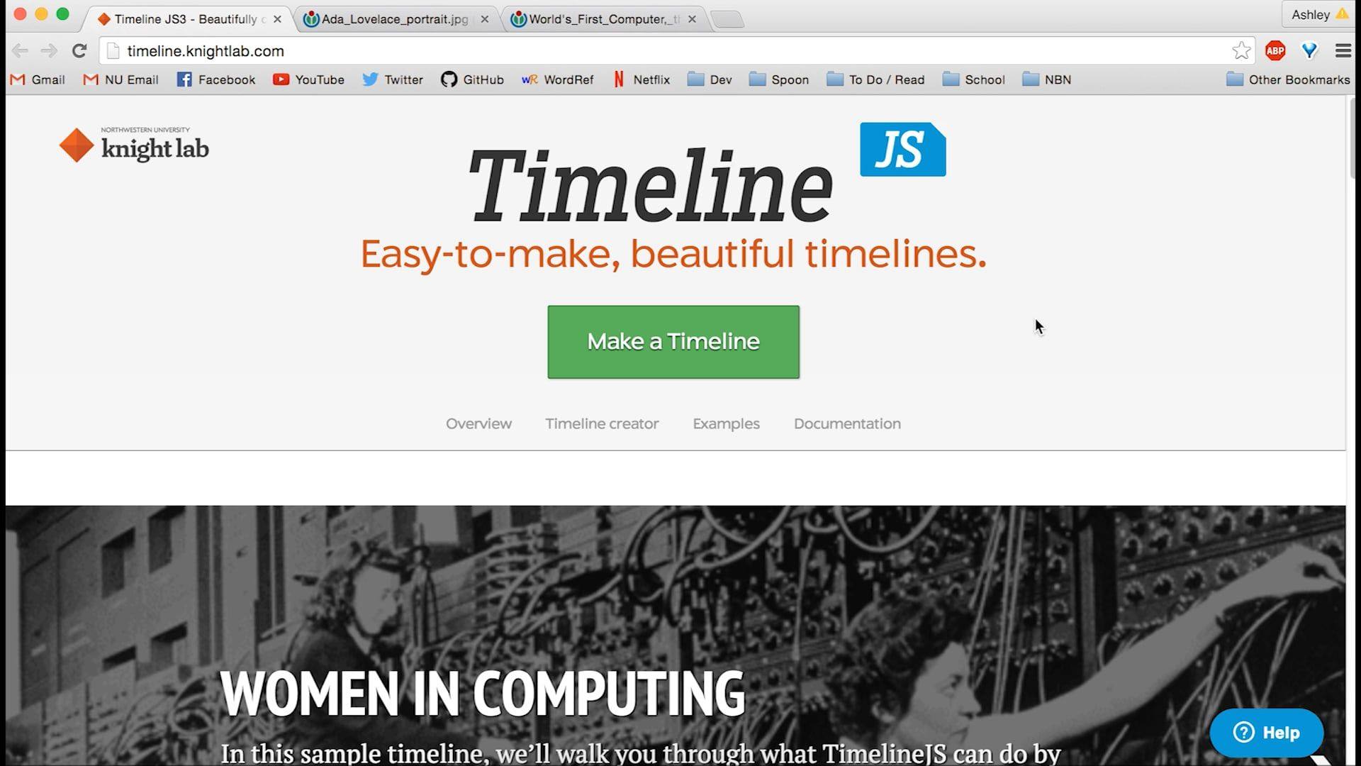 How to Use TimelineJS | Pinterest | Timeline creator, Fun learning ...
