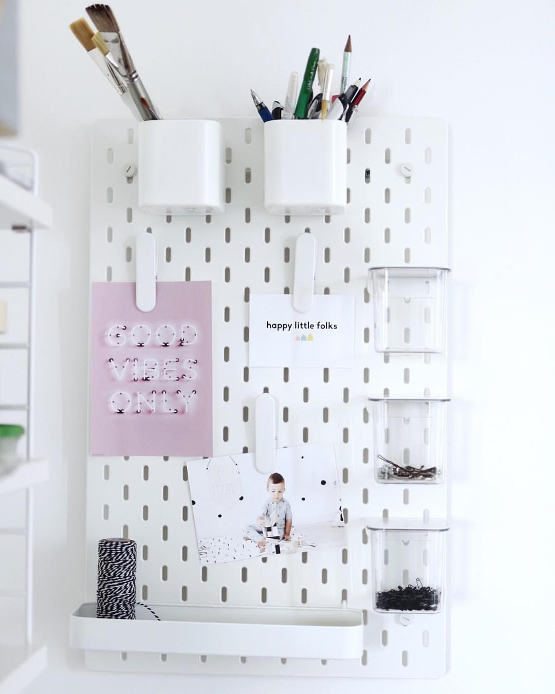 I love this new Ikea design - perfect wall organiser for my little ...