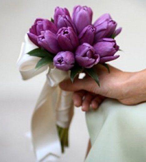 Tulip Bridal Bouquet - Tulpenhochzeiten - #Bouquet #Bridal #Tulip #Tulpenhochzeiten #brautblume