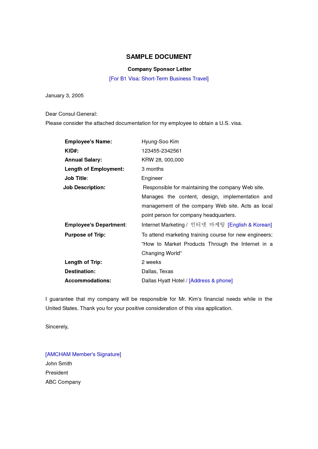 Visa Application Letter Uk Sample Fast Online HelpVisa