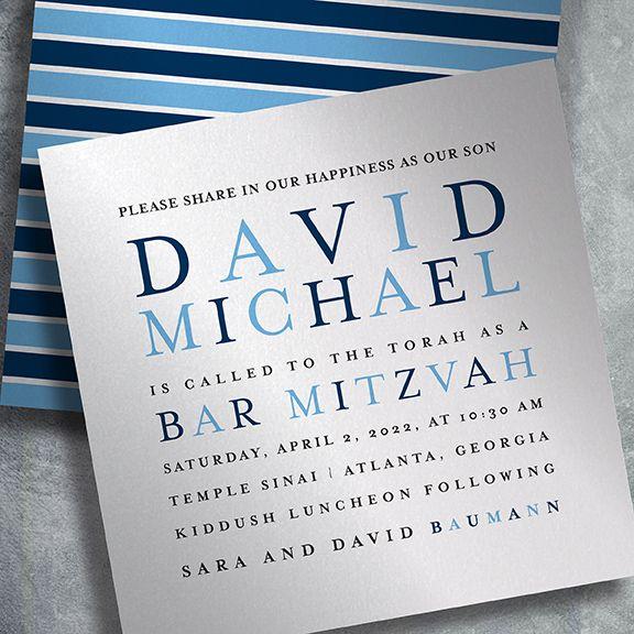Pin on EventPrints Bar Mitzvah Invitations