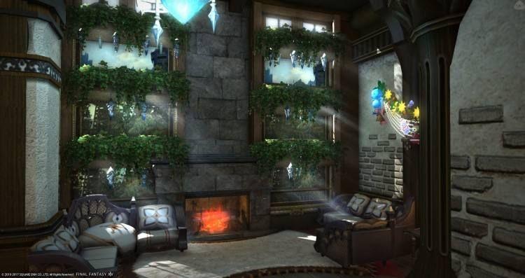 Ff14 Housing Room Designs In 2020 Fantasy House House Design Room Design