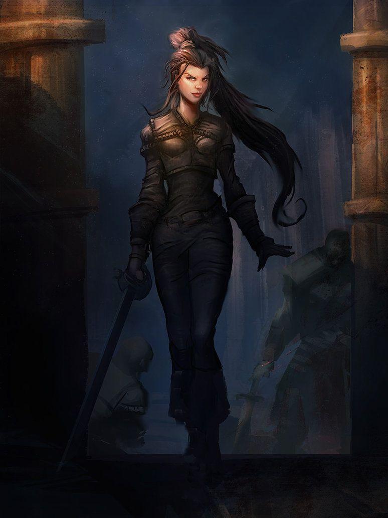 Fantasy Character Inspiration Assassin Character Female Assassin Rogue Character Female Rogue Cha Fantasy Female Warrior Warrior Woman Character Portraits