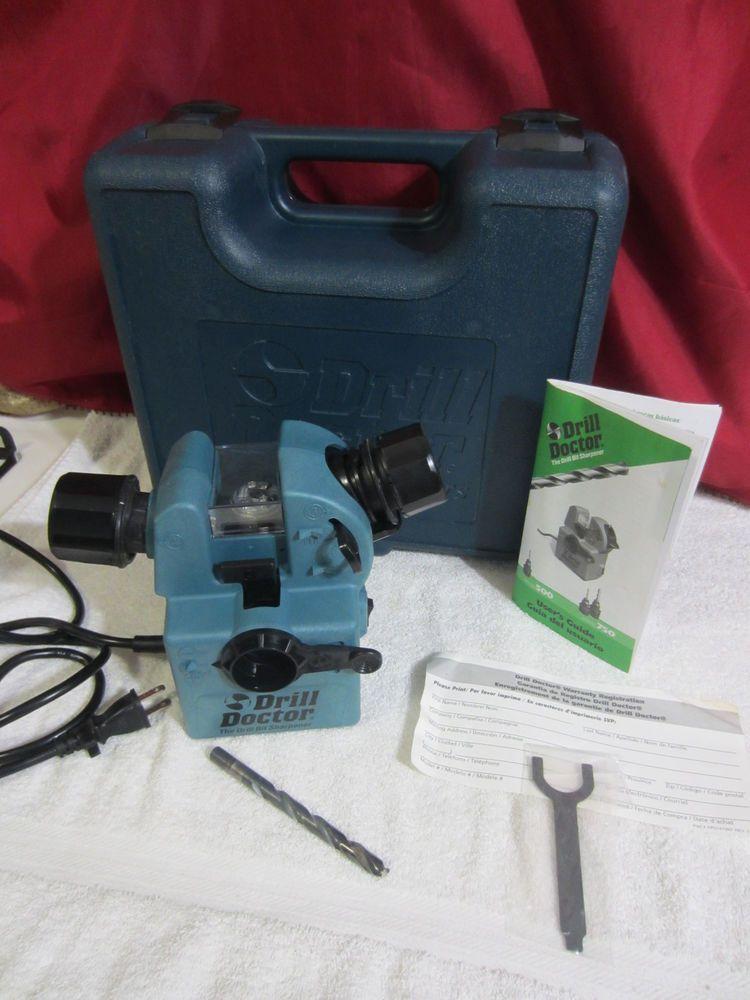 Drill doctor 750 drill bit sharpener in case little use