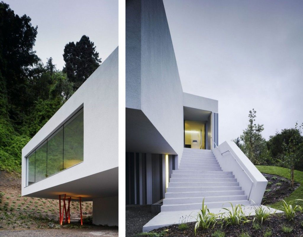 3,089 S.f. Minimal Residence In Ireland By ODOS Architects   Homaci.com