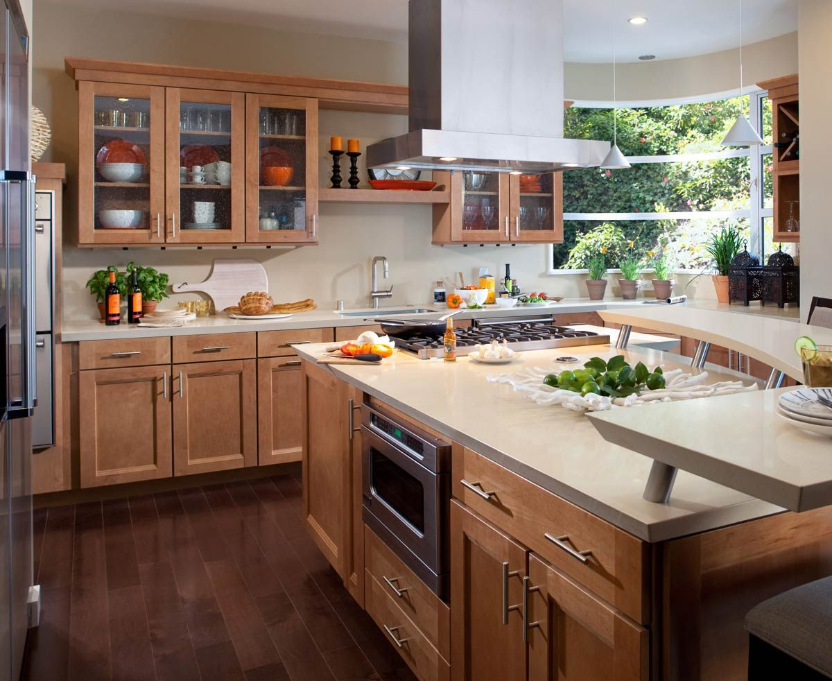 waypoint living spaces | style 420t in maple spice | kitchen ideas